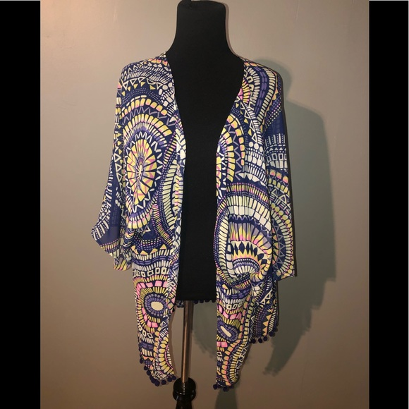 Ocean Drive Other - Colorful shawl.